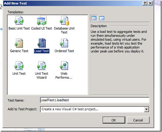 SharePoint Stress test using Visual Studio 2010 Ultimate